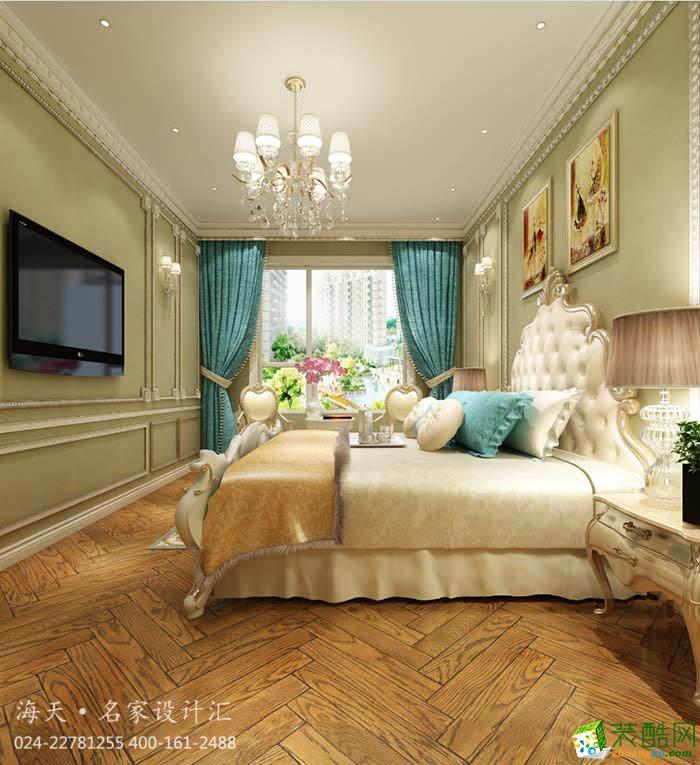 沈阳三室二厅二卫150平洋房欧式设计装修效果图