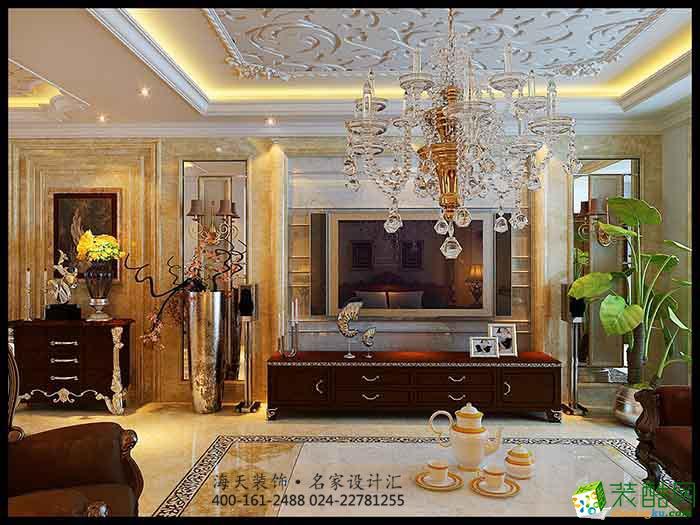 沈阳四室两厅三卫245平大户型欧式设计装修效果图 家装 欧式风格 四室图片