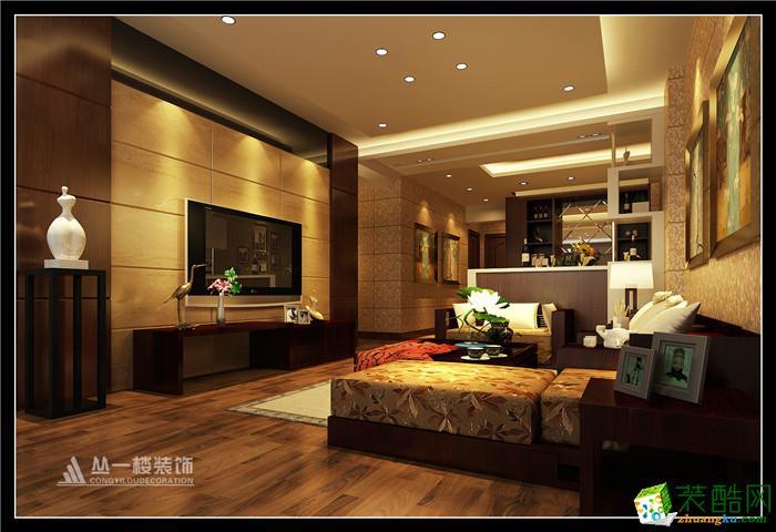 客厅 丛一楼装饰/香溢花城89平两房两厅欧式风格
