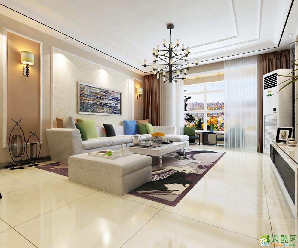 客厅效果-维多利亚装修-维多利亚140平米咨询热线:15354414230 qq在线