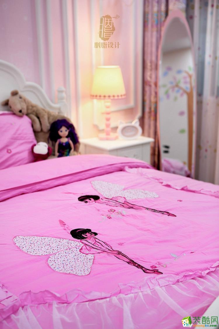 粉色卧室装修设计效果图