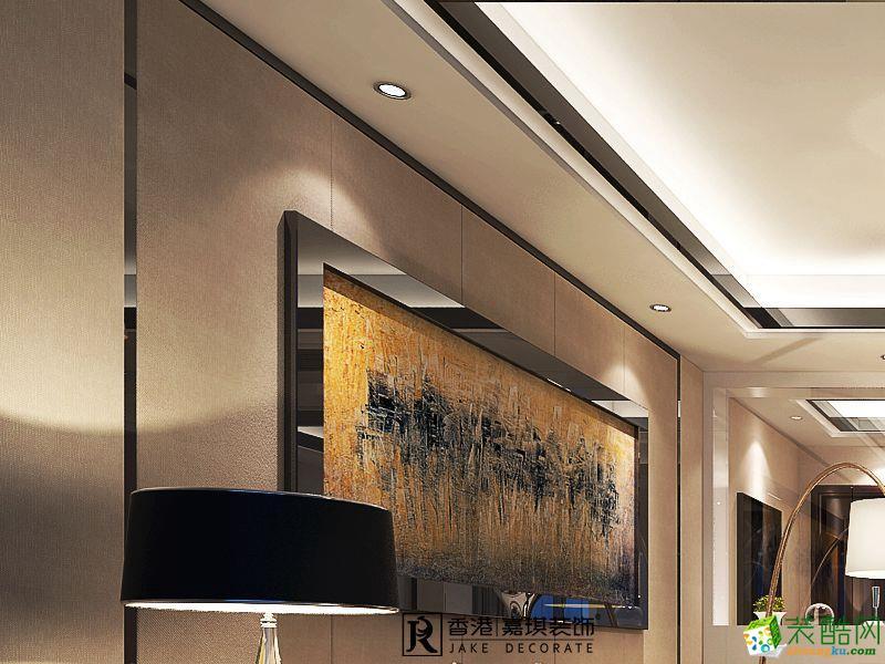 低调客厅电视装修设计背景墙
