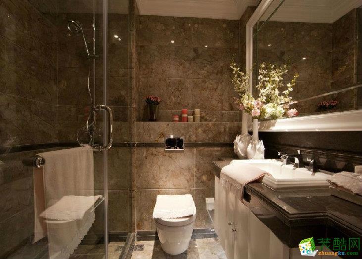 简欧式风格厕所装修效果图大全