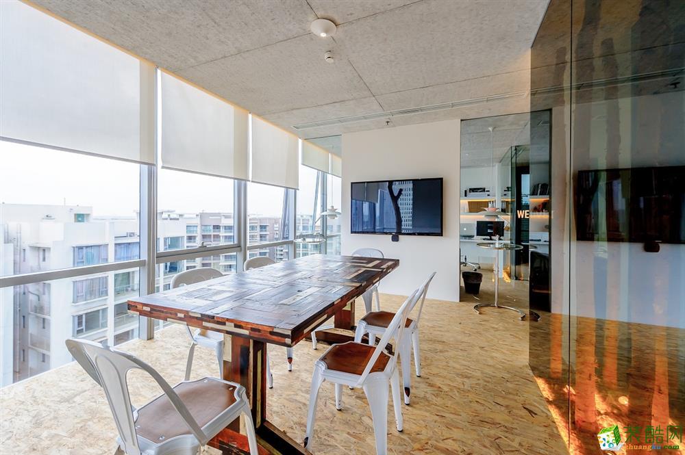 售楼中心小型工作区装修设计
