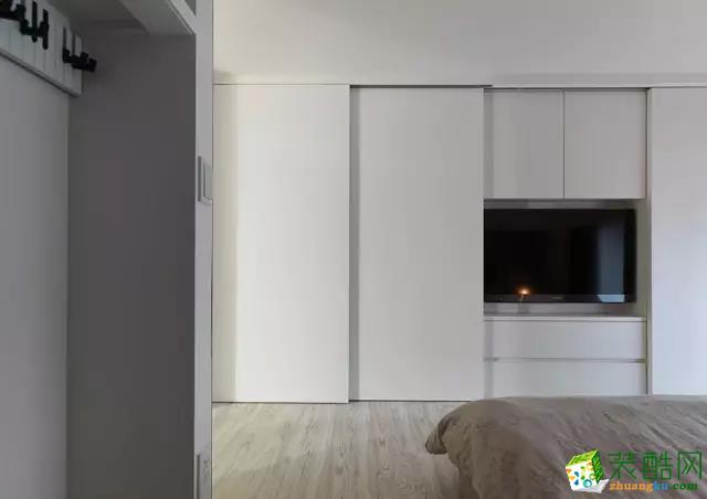衣柜电视墙组合装修效果图