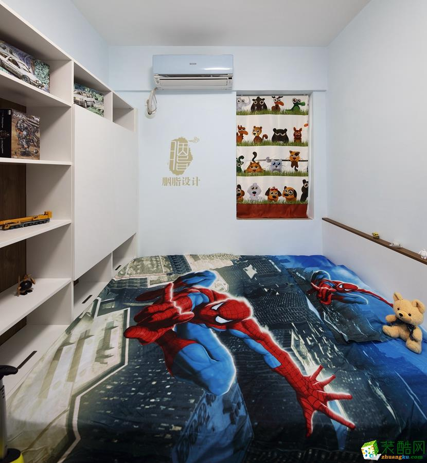 清新儿童房装修效果图