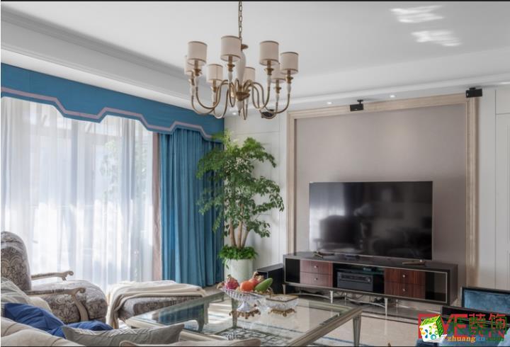简约客厅电视背景墙效果图