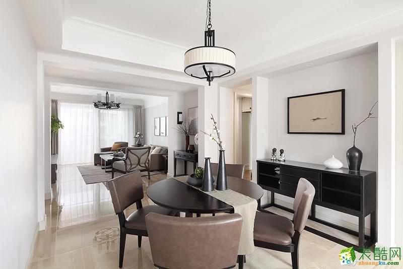 106平新中式优雅闲适三居室