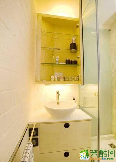 39平简约风格单身公寓装修