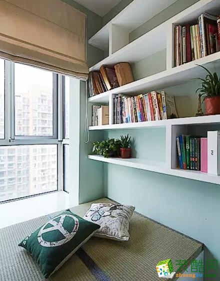 90平美式混搭三居室装修