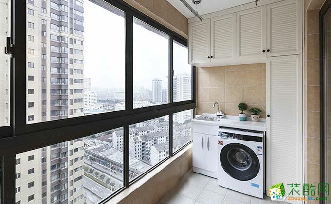 120平美式公寓装修