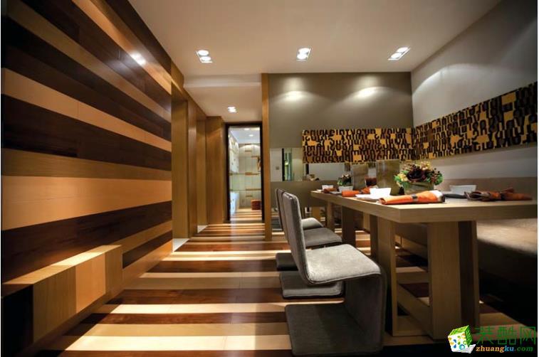 餐厅墙面壁纸装修效果图