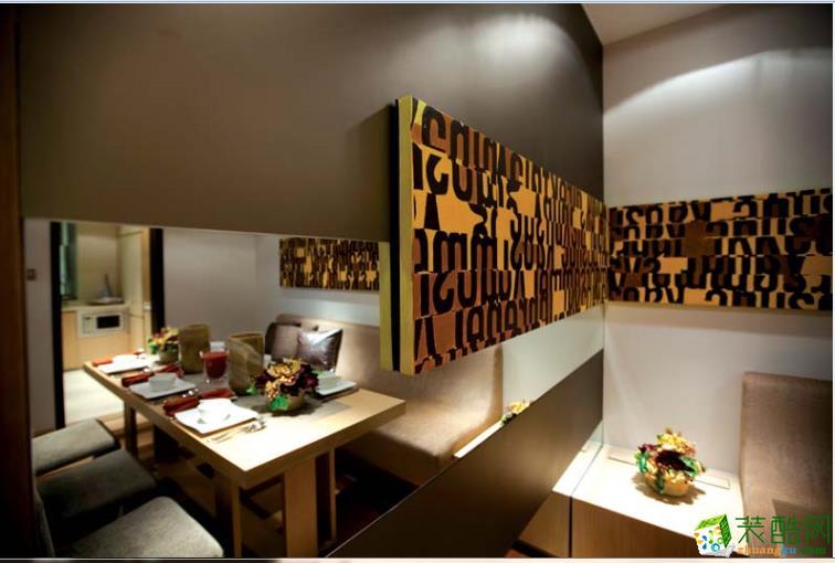 餐厅隔断装修设计效果图