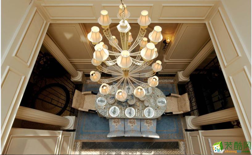 客厅吊灯装修图片