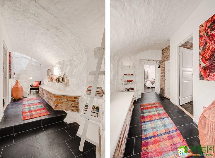 复古地中海风格 62平一居室装修