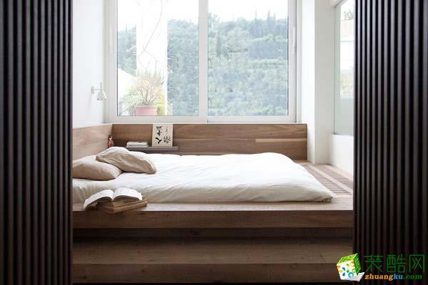 日式榻榻米卧室装修图