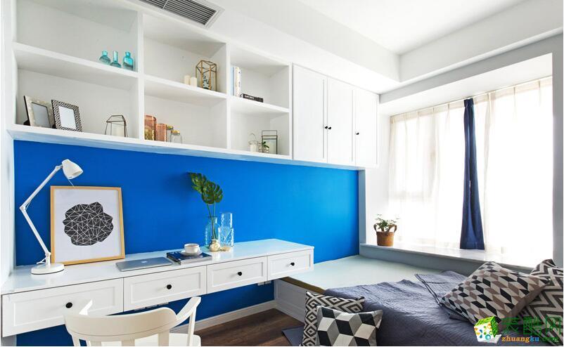 北歐風格客廳臥室裝修效果圖