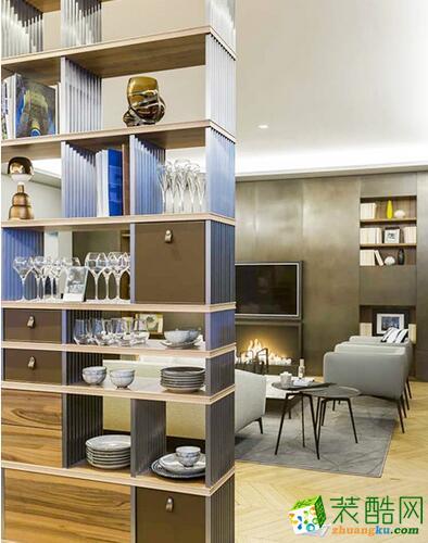 107平公寓法式风格