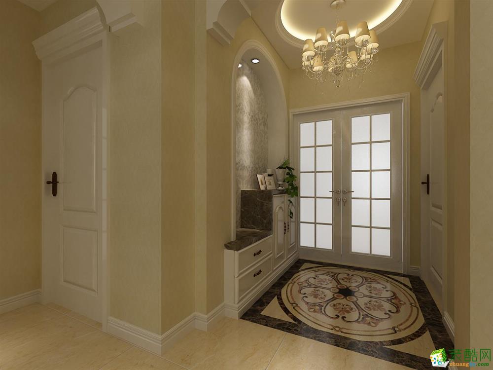 【金地铂悦】90㎡两室两厅简欧风格_装酷网装修效果图图片