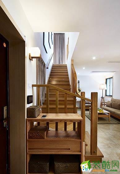 跃层楼梯装修效果图