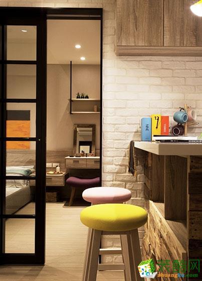 53平米现代简约一居室装修