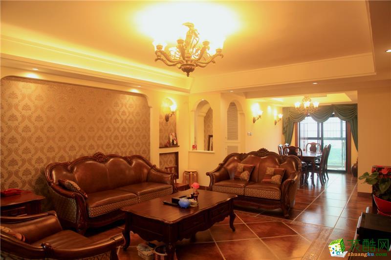 美式家居简约客厅装修图片