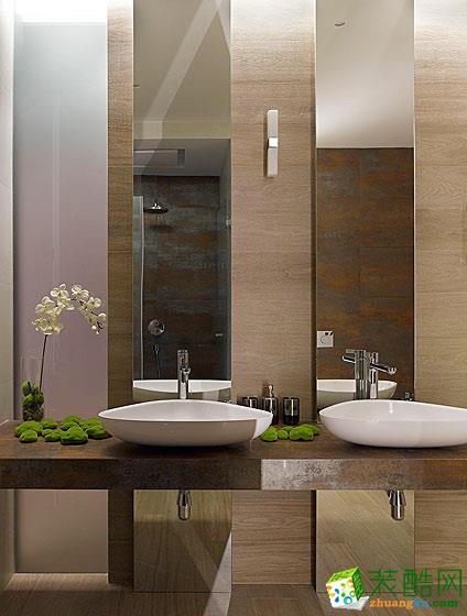 150平美式优雅三居室