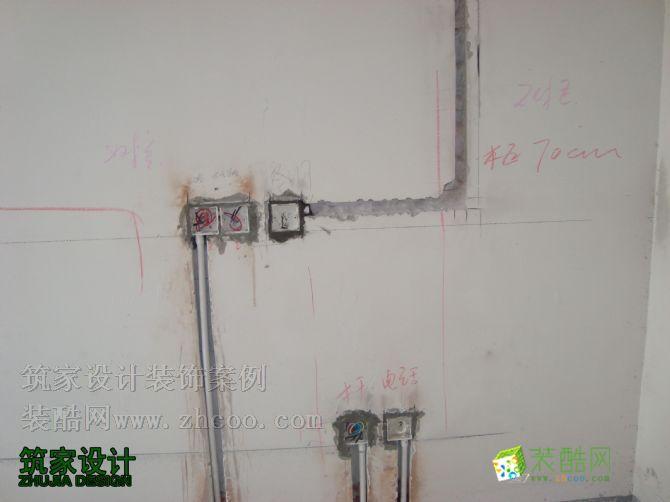 水电施工现场效果图_装酷网装修案例