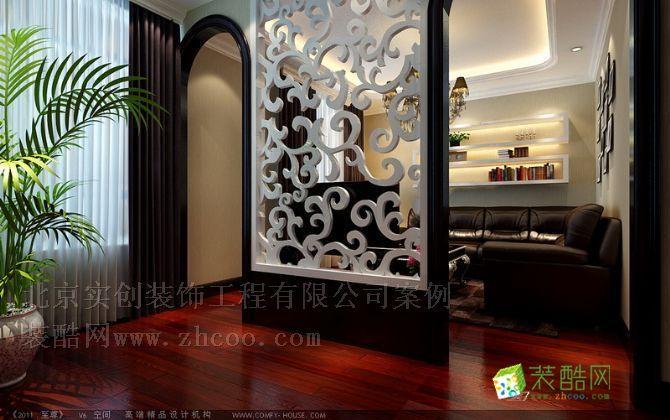 客厅16万展现258平现代欧式低调奢华的家居魅力
