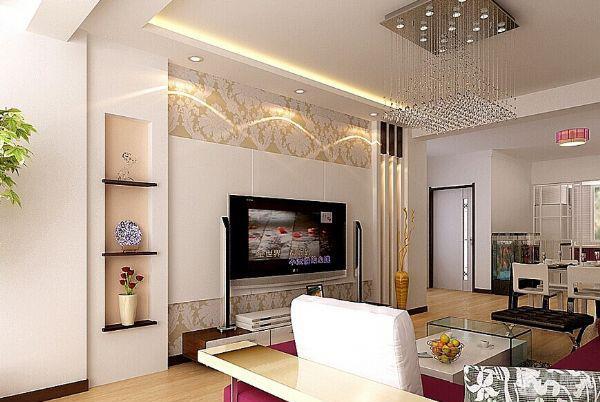 客厅电视背景墙怎样搭配?选择什么颜色好看?