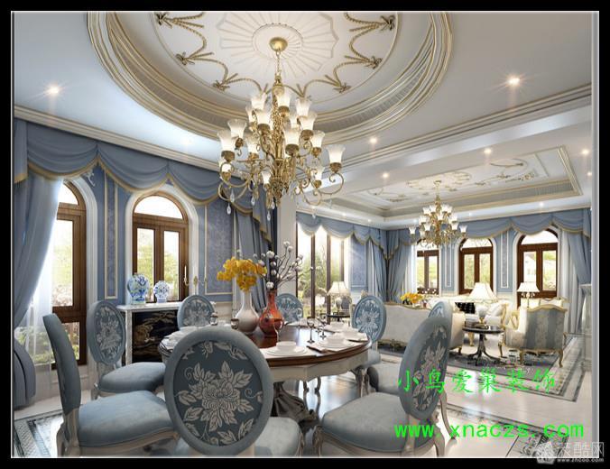 伊斯兰风格的特征是东,西方合壁,室内色彩跳跃,对比,华丽,其表面装饰