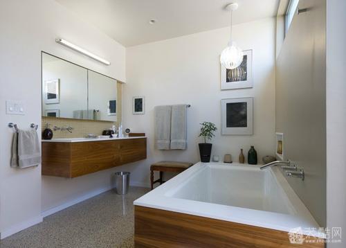 67小户型卫浴间装修3大设计原则