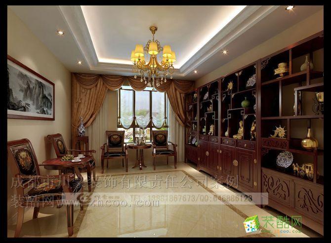 欧式风格别墅装修效果图,收藏间装修效果图 欧式风格别墅装修设计套图