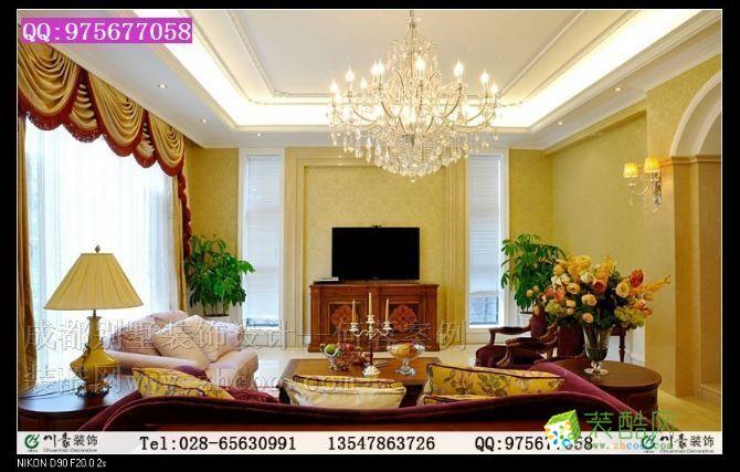 成都別墅裝飾設計--別墅裝修效果圖