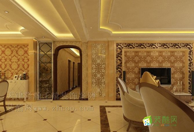 泰祥里三室二厅一卫装修案例效果图 120平米设计