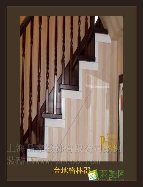 >> 金地格林郡楼梯图 品家楼梯案例图