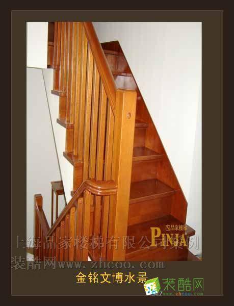 金銘文博水景客戶案例樓梯效果圖