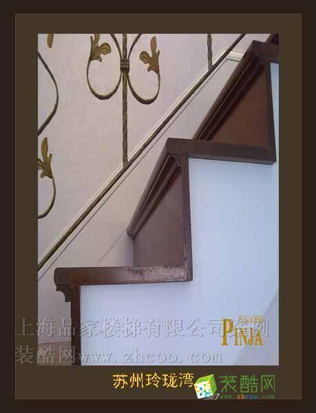 蘇州玲瓏灣客戶案例樓梯實景圖