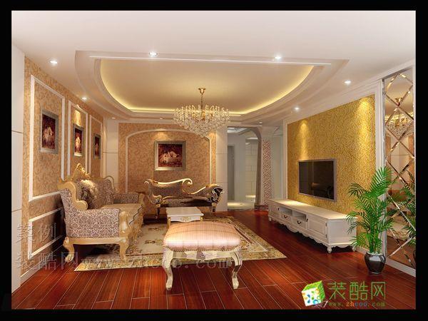 客厅 欧式风格客厅效果图 【天大室内装潢】丽园路