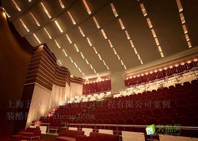 大型工装 中式风格 礼堂剧院