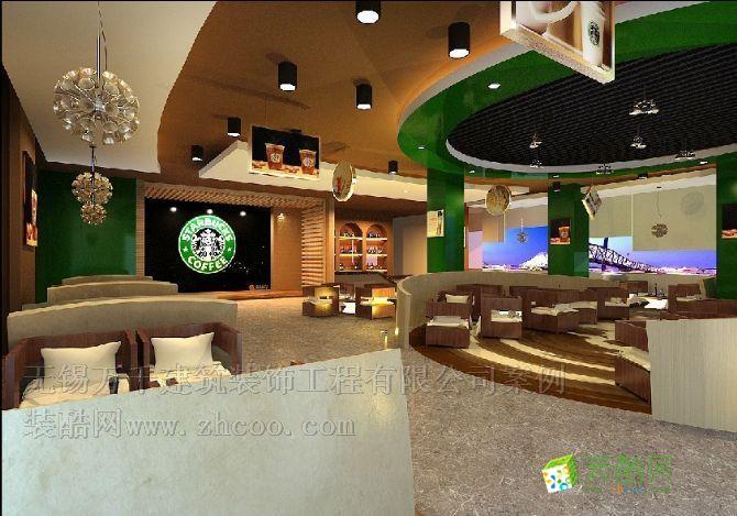 装修案例                        咖啡厅灯光效果一般商店的霓虹灯