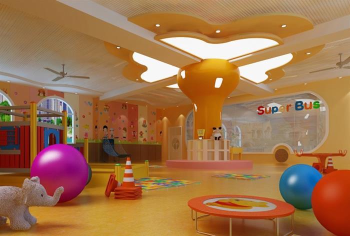 1,幼儿园设计要点:平面布置应功能分区明确,避免相互干扰,方便使用