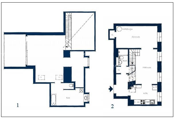 复式住宅户型图分享,复式住宅平面图设计