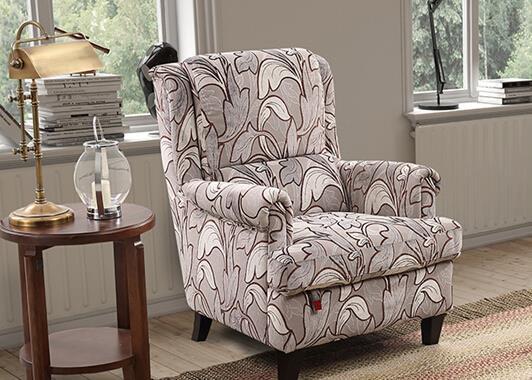七、顾家家居沙发椅价格介绍——型号KG.A008布艺沙发椅价格型号图片