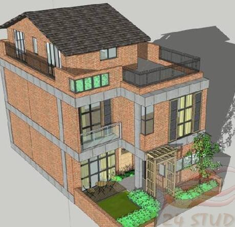 82平兩層半農村小住宅裝修成三層樓房(圖很全)