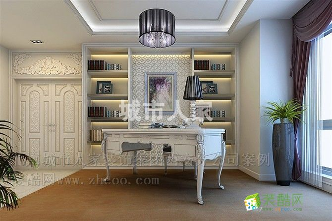 符合国人审美的简欧风格,尊贵,清新,大气,内敛 欧式风格 三室两厅一卫图片