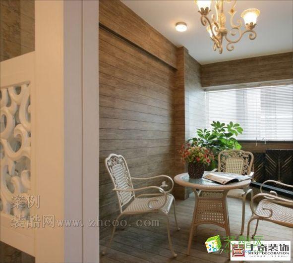 田园风格设计案例 田园风格 三室一厅一卫