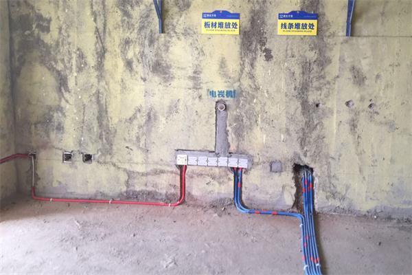 湖南名仕大宅装饰水电阶段
