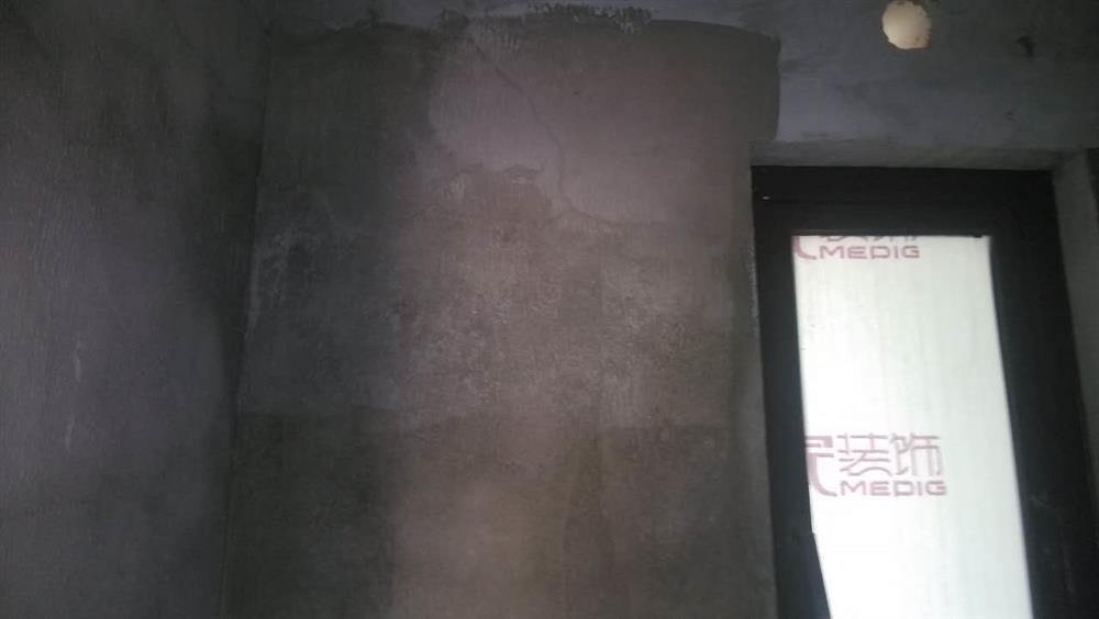 美的家装饰泥瓦阶段