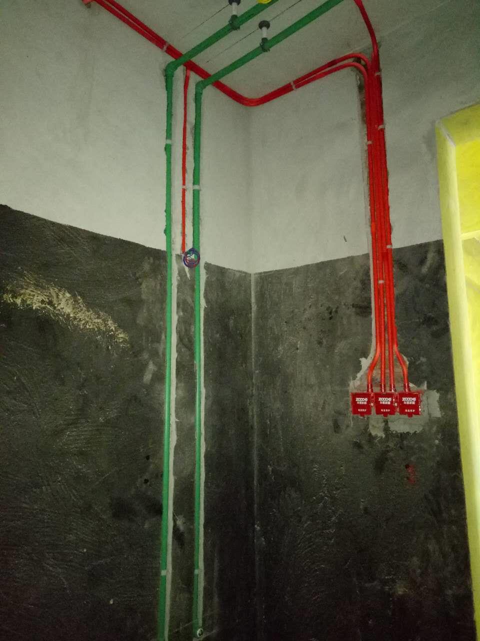众意家居水电阶段